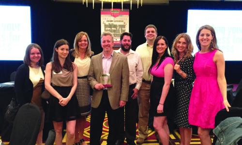 Eddie Ulrich of Fuzzy Duck - 2015 Entrepreneur of the Year Award